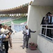 Zimbabwe Security team visit to Gaddafi Stadium Lahore
