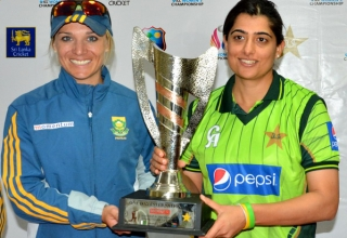Pakistan v South Africa (Women) in UAE 2014/15