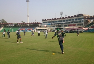 Training Camp for Zimbabwe Series 2015/16
