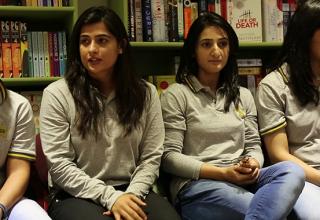 Pakistan Women Cricket Team met fans in Lahore