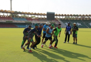 Pakistan A summer training camp at GSL