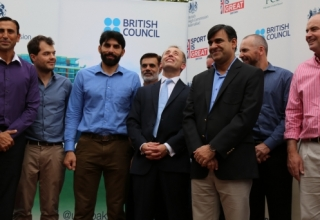 British High Commissioner hosts Iftar dinner for Pakistan Team and...