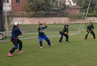 Pakistan Women Cricket Team Training Camp for New Zealand Tour 2016