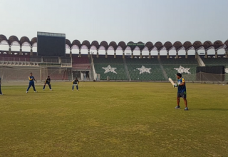 Pakistan U19 Cricket Team training camp at GSL