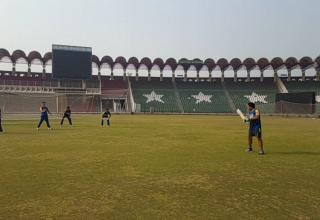 Pakistan U19 Cricket Team training camp at GSL