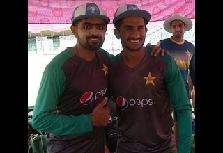 ICC ODI Team of the Year caps presented to Babar Azam and Hasan Ali