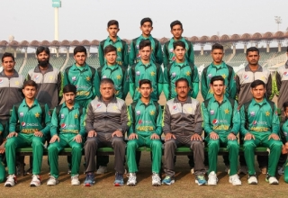 Pakistan U16s vs Australia U16s in UAE 2018/19