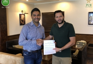 PCB signs two-year partnership with Shahid Afridi Foundation