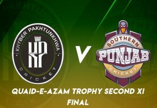 Final: Quaid-e-Azam Trophy 2nd XI 2019/20